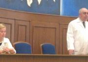 30-го августа 2013 г. в актовом зале состоялась рабочая встреча Министра здравоохранения СО Белявского А.Р. с сотрудниками НИИ ОММ