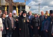 17 июня сотрудники НИИ ОММ приняли участие в освещении креста будущего Храма в честь врача  ЕВГЕНИЯ БОТКИНА.
