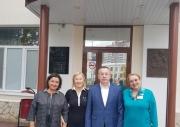 20 сентября НИИ ОММ посетил Моисеев Александр Петрович